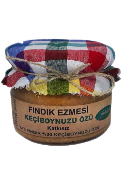 Fýndýk Ezmesi, Keçiboynuzu Özü, KATKISIZ 270 Gr.