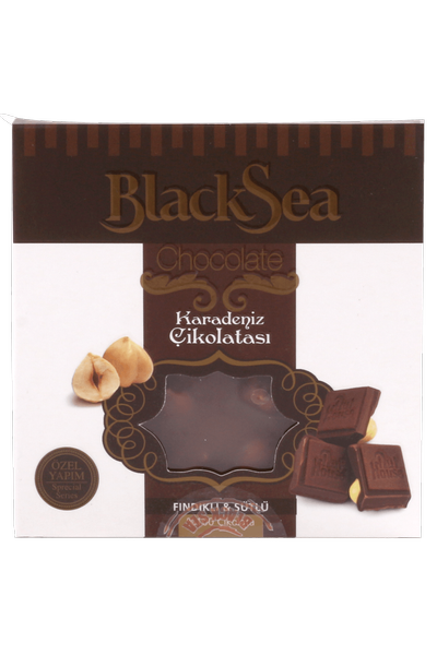 Black Sea Chocolate ® Fýndýklý Sütlü Çikolata 65 Gr.