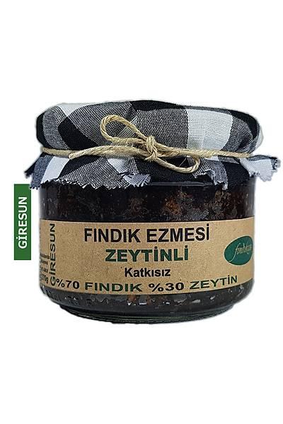Fýndýk Ezmesi, Zeytinli, KATKISIZ 270 Gr.