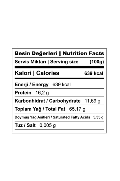 Fýndýk Püresi, %100 Fýndýk, 2.5 kg