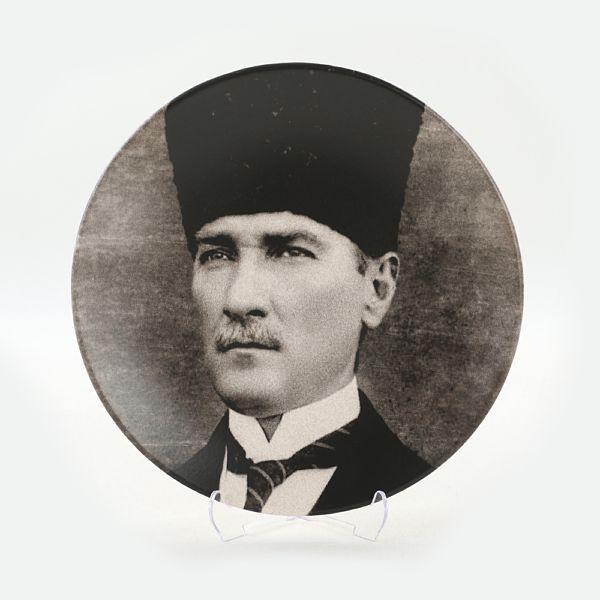 Atatürk Portre Hediyelik/Dekoratif Tabak - 18239