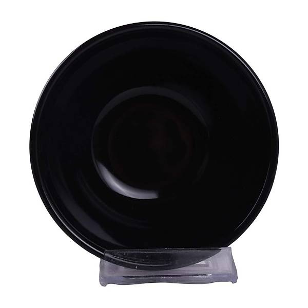 Siyah Kera Kase 12 cm 6 Adet