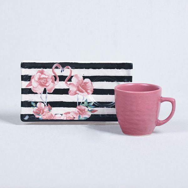 Flamingo Kahve Sunum Seti 2 Kiþilik - 18311