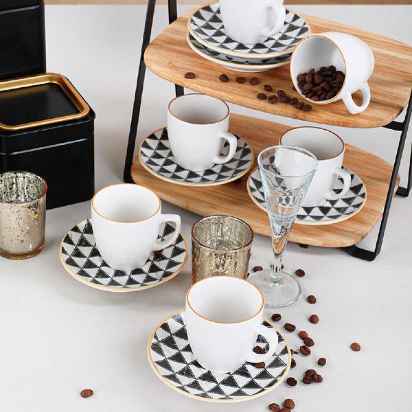 Trigon Kahve Takýmý 12 Parça 6 Kiþilik - 18765