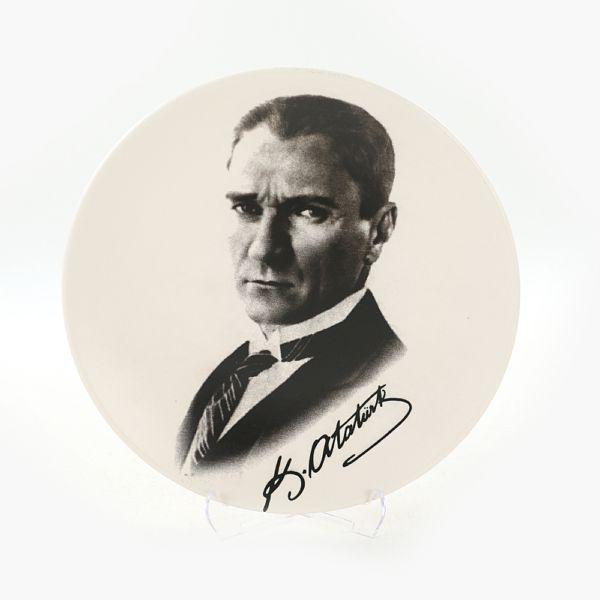 Atatürk Portre Hediyelik/Dekoratif Tabak - 18241