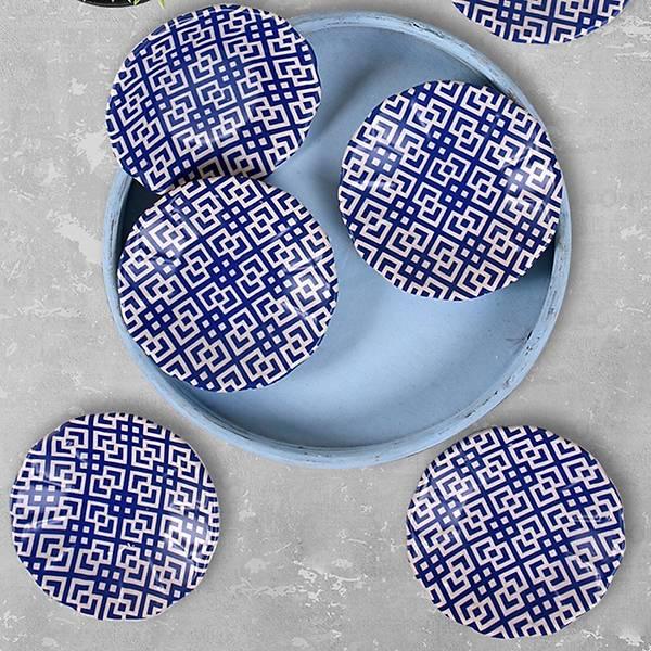 Blue Çay Tabağı 6 Adet - 17925