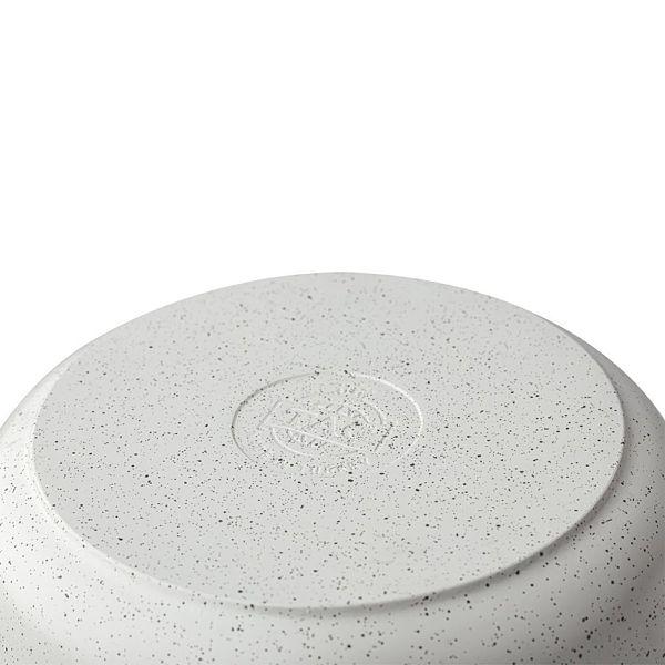 Granit Döküm Derin Tencere 28 cm Beyaz