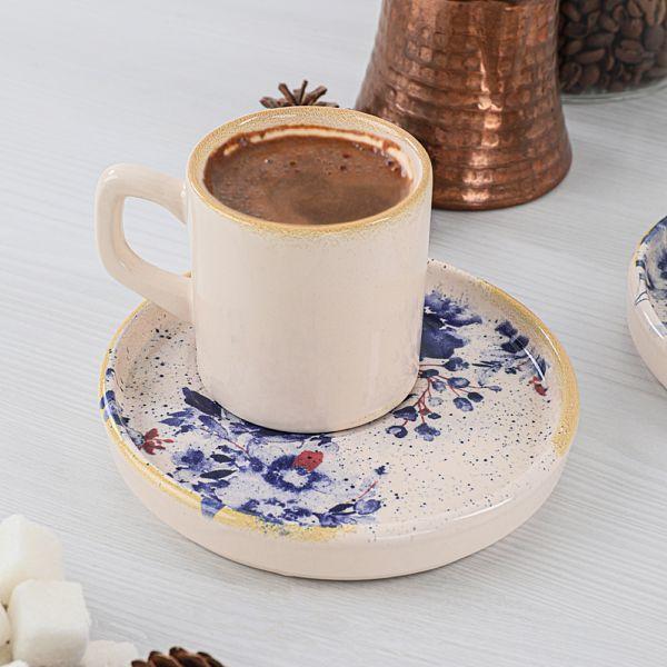 Mimoza Stackable Kahve Takýmý