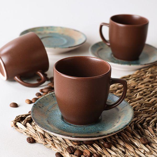 Ore Kahve Takımı 12 Parça 6 Kişilik - 18410