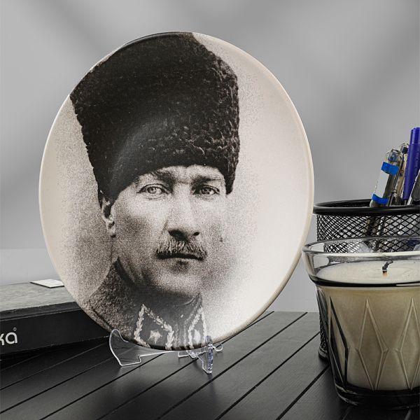 Atatürk Portre Hediyelik/Dekoratif Tabak - 17685