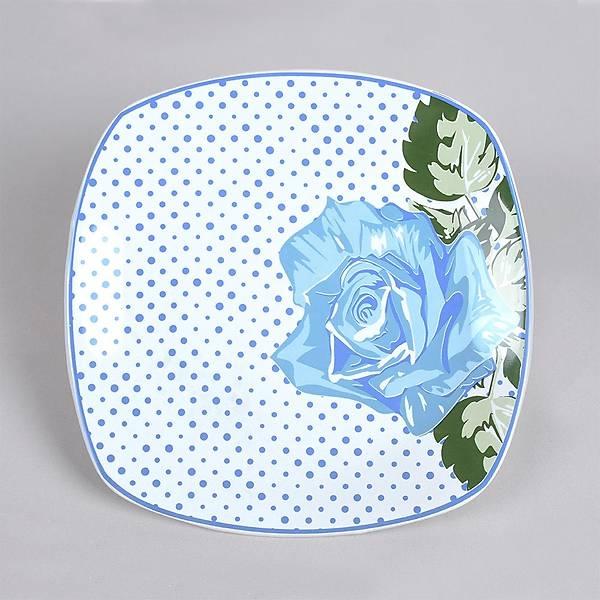 Blue Rose Servis Tabaðý 27 Cm 6 Adet