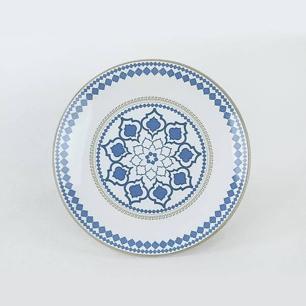 Ethnic Blue Pasta Tabaðý 20 Cm 6 Adet - 19867