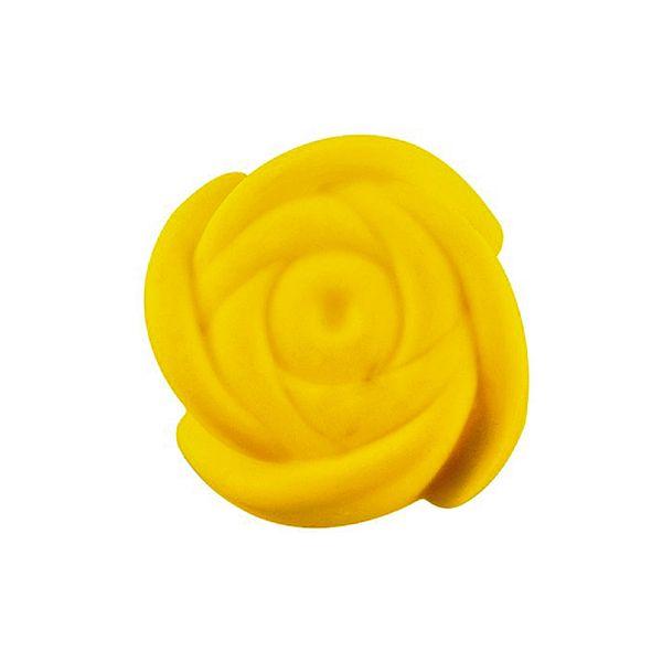 Sarý Muffin Gül Silikon Kek Kalýbý 7 cm 6 Adet - MYS 200