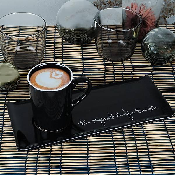 En Kýymetli Hediye Sensin Siyah Kahve Sunum Seti