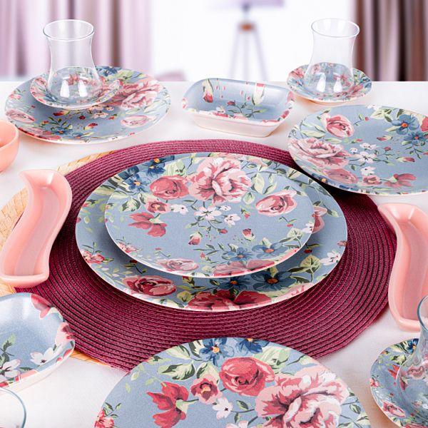 Rose Blue Kahvaltý Takýmý 19 Parça 4 Kiþilik - 18715