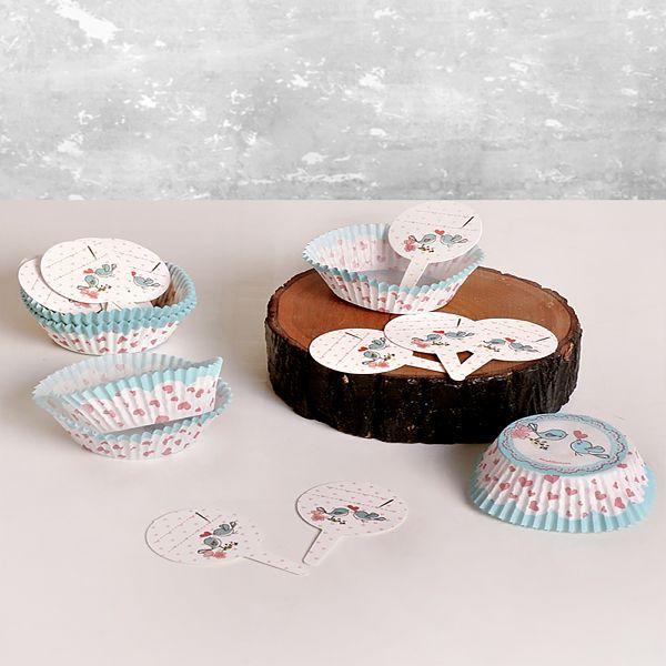 Yeþil Kuþ Kürdanlý Muffin 50 x 35 25 Adet