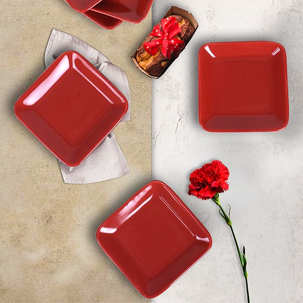Kırmızı Plaza Çerezlik / Sosluk 11 Cm 6 Adet