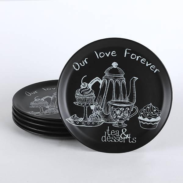 Tea & Deserts Hitit Servis Tabaðý 25 Cm 6 Adet