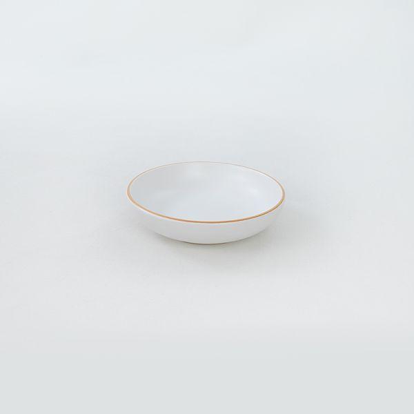 Gold Line White Halka Çerezlik/Sosluk 13 Cm 6 Adet