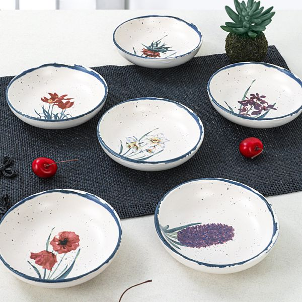 Anatolian Flowers Halka Çerezlik/Sosluk 13 Cm 6 Adet - 256/261