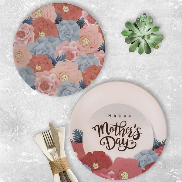 Mother'S Day Servis Tabaðý 25 Cm 2 Adet - 18226-27