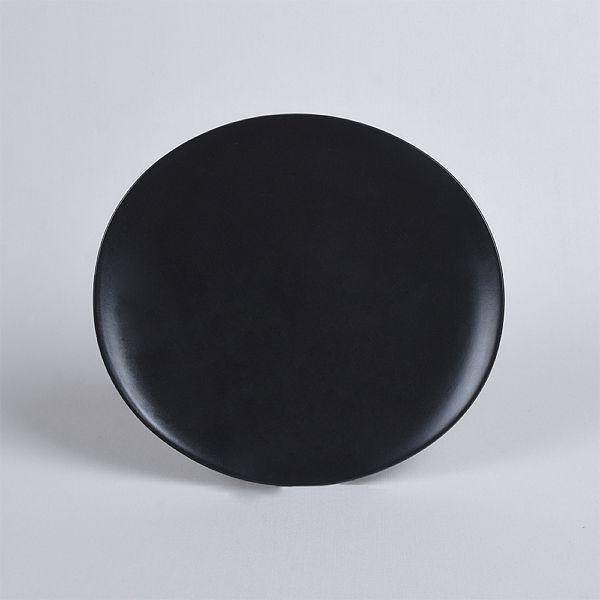 1 Adet Servis Tabaðý Oval Mat siyah