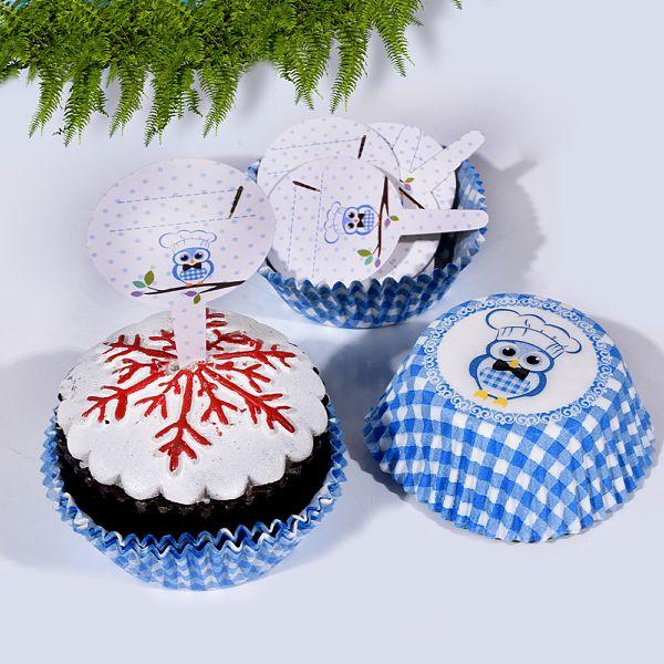 Mavi Muffin Kek Kapsül Kaðýdý 20 Adet TVL-6151