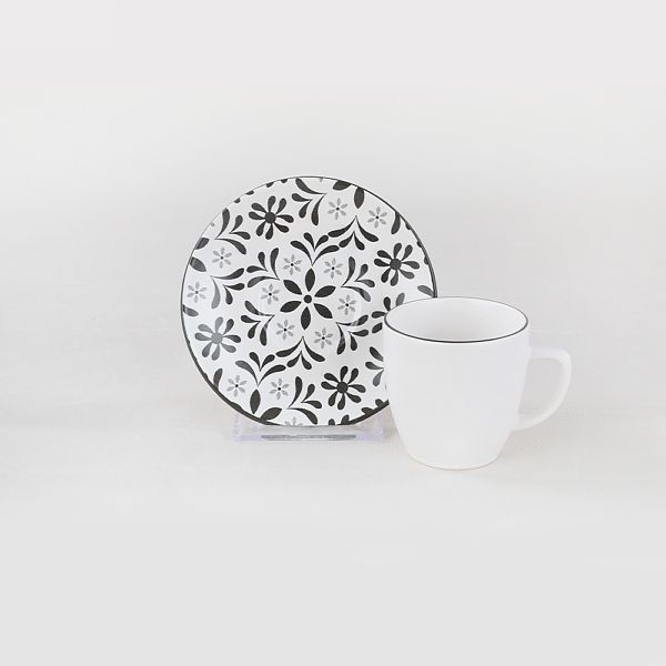 Tuli Kahve Fincan Takýmý 12 Parça 6 Kiþilik - 19302