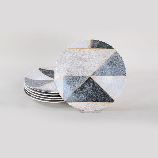 Tile Marble Servis Tabaðý 26 Cm 6 Adet - 19503