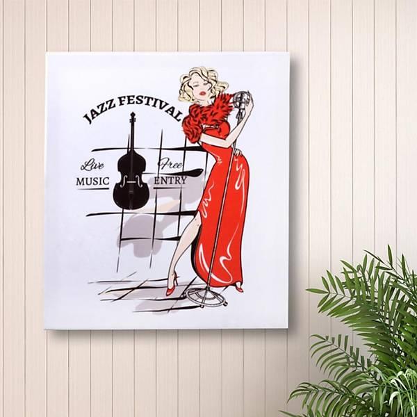 Havalı Kadınlar Karaoke Kanvas Tablo 40 x 45 Cm
