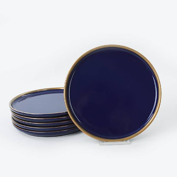 Nordic Gold Kobalt Pasta Tabaðý 22 Cm 6 Adet