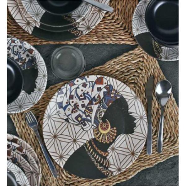 Afrikalý Kadýnlar Pasta Tabaðý 18111 - 1 adet