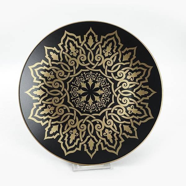 Topkapý Mat Siyah Yemek/Kahvaltý Takýmý 44 Parça 6 Kiþilik