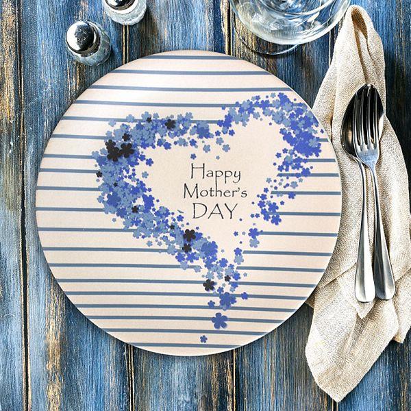 Happy Mother'S Day Servis Tabaðý 26 Cm - 18224