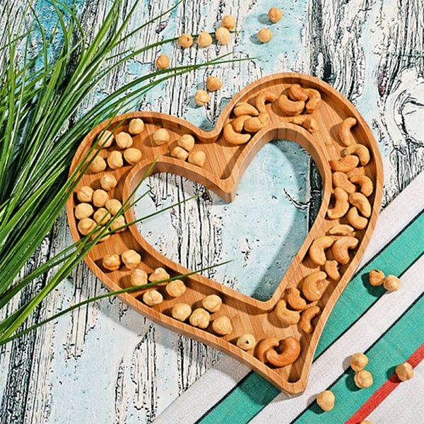 Bambu Küçük Kalp Çerezlik 26 Cm