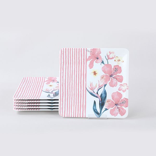 Pink Magnolia Servis Tabaðý 25 Cm 6 Adet - 19605