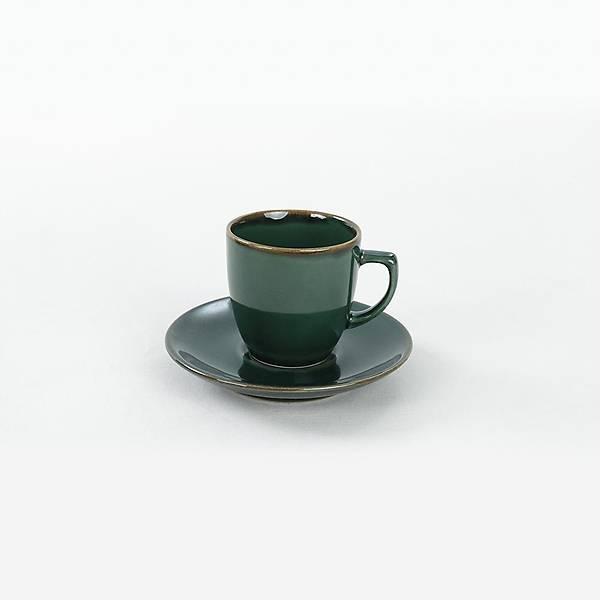 Zümrüt Kahve Fincan Takýmý 12 Parça 6 Kiþilik