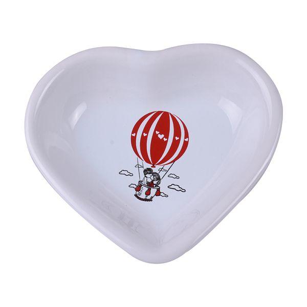 Red Love Balon Kalp Çerezlik 6 Adet 14 Cm