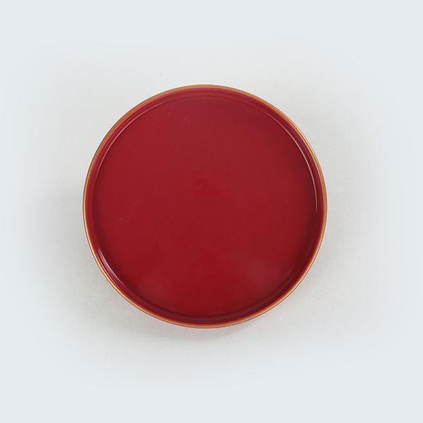 Red Stackable Pasta Tabaðý 21 Cm