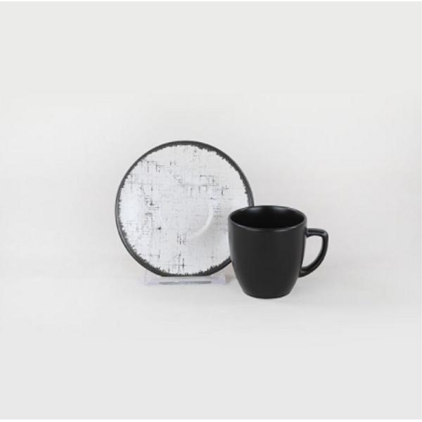 1 Adet Mat Siyah Kahve Fincaný