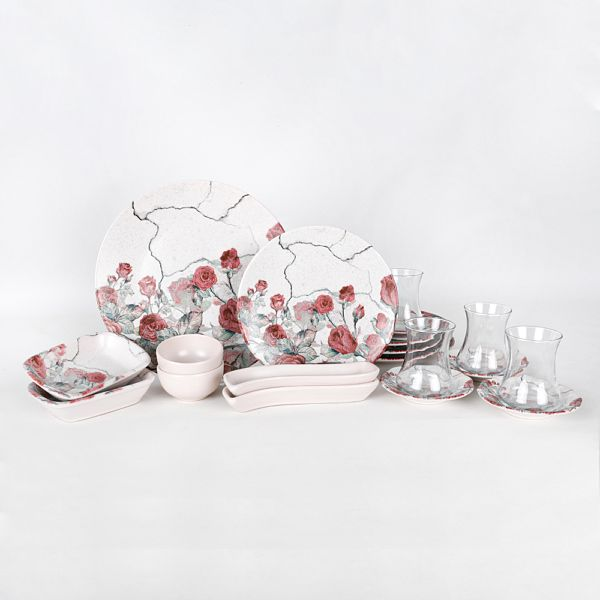 Pink Rose Kahvaltý Takýmý 19 Parça 4 Kiþilik - 18237
