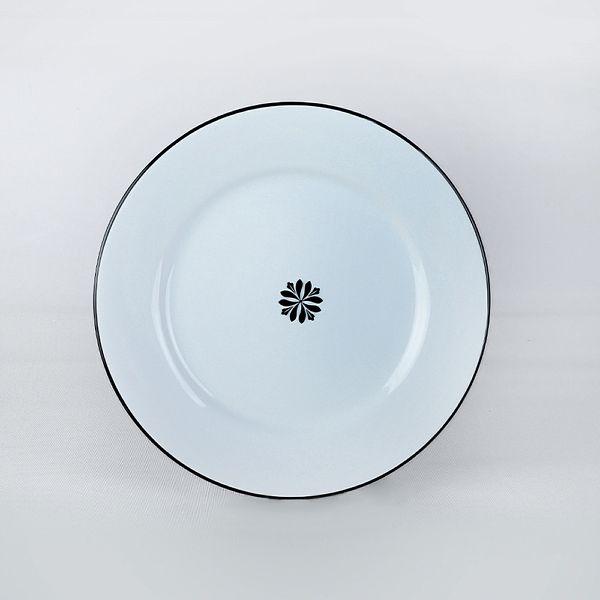 Riva Beyaz Siyah Yemek Takýmý 48 Parça 12 Kiþilik