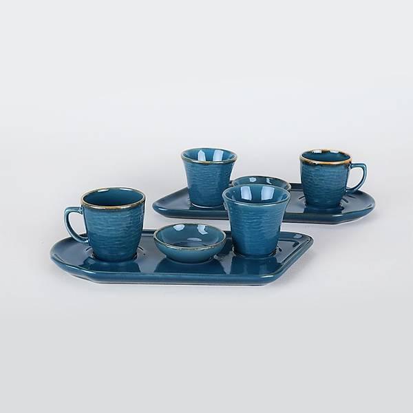 Safir Kahve Sunum Seti 8 Parça 2 Kiþilik
