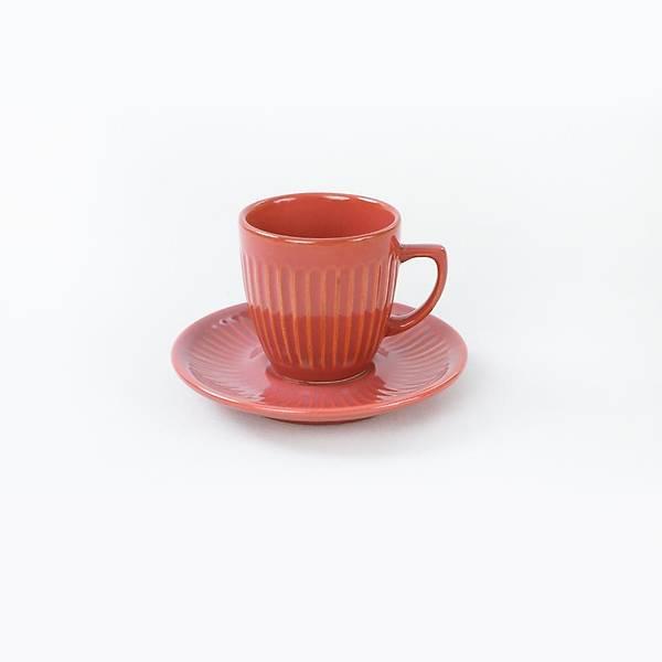 Mercan Line Kahve Fincan Takýmý 12 Parça 6 Kiþilik