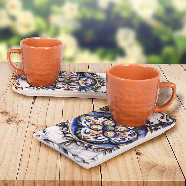 İspanyol Kahve Sunum Seti 2 Kişilik - 18500