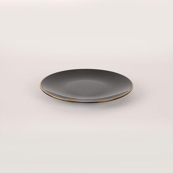 Ege Siyah Gold Yemek/Kahvaltý Takýmý 44 Parça 6 Kiþilik