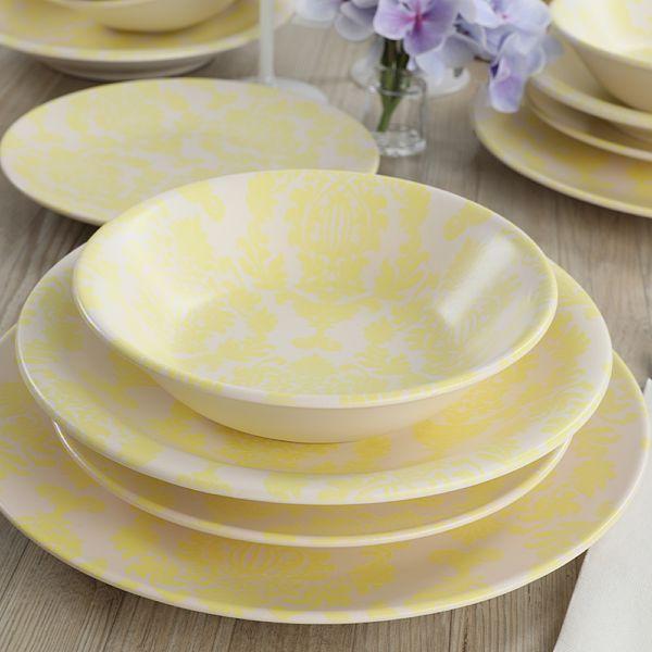 Yellow Pieces Yemek Takýmý 16 Parça 4 Kiþilik - 18193