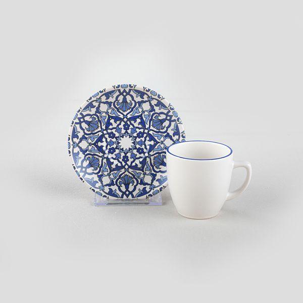 Osmanlý Kahve Takýmý 12 Parça 6 Kiþilik-17667
