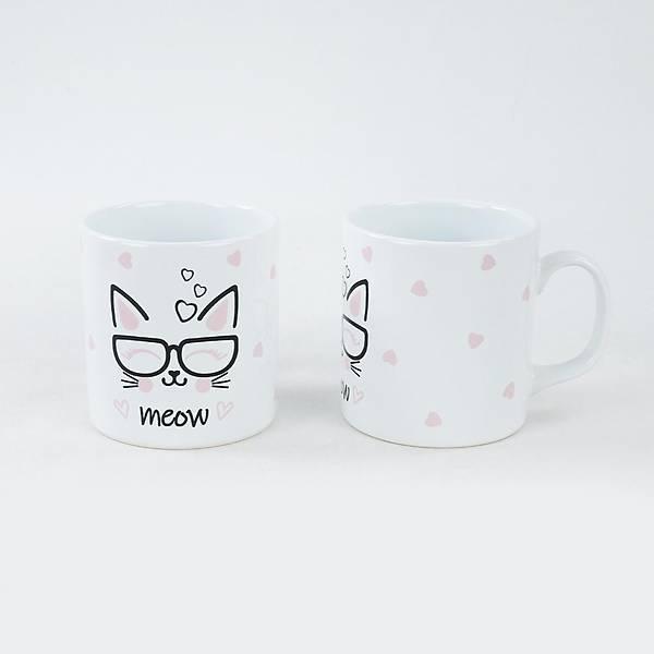 Kitty Meow Kupa 9 Cm 2 Adet
