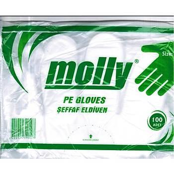 MOLLY  ÞEFFAF PET ELDÝVEN 100 LÜ